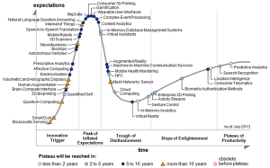 Gartner Hype Cycle 2013