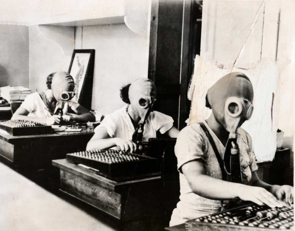 Gasmask Office